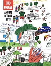 Cover of UNMAS Annual Report 2019